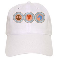 peacelovehorses-2 Baseball Cap