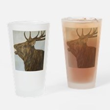 red deer stag Drinking Glass