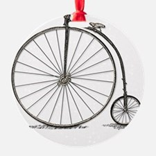 penny farthing Ornament