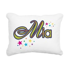 Mia Rectangular Canvas Pillow