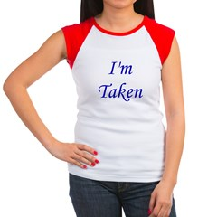I'm Taken Women's Cap Sleeve T-Shirt