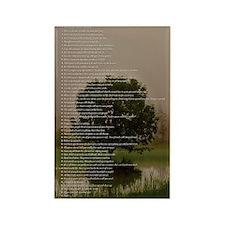 Brett16x20Vert_Tree2 Rectangle Magnet