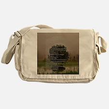 Brett16x20Vert_Tree2 Messenger Bag