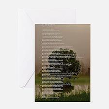 Brett16x20Vert_Tree2 Greeting Card