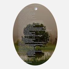 Brett16x20Vert_Tree2 Oval Ornament