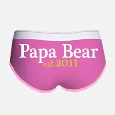 papa bear est 2011_dark Women's Boy Brief