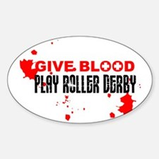 give blood Decal