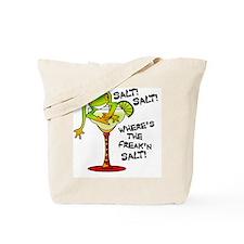 MargaretteFrogWantsSALT_lites Tote Bag