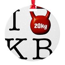 i-heart-kb Ornament