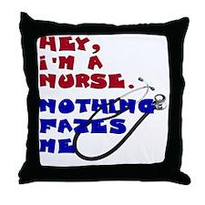 im-a-calm-nurse Throw Pillow