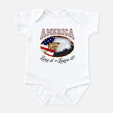 America - Love it or Leave it! Infant Bodysuit
