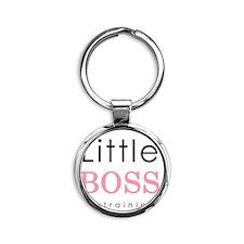 LittleBoss Round Keychain
