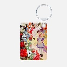 Alice Painting Roses 10x14 Keychains