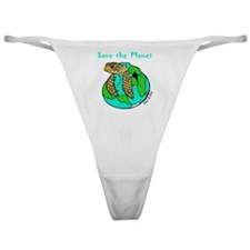 earthday10 copy Classic Thong