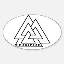 Odin Oval Decal