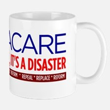 Obamacare-disaster-not-reform_clr-bkgrn Mug