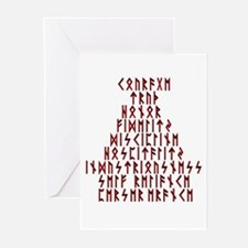 Runic Virtues Greeting Cards (Pk of 10)
