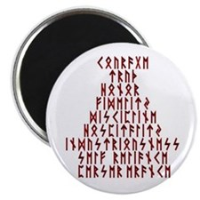 """Runic Virtues 2.25"""" Magnet (10 pack)"""