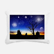 10X14WYOGA Rectangular Canvas Pillow