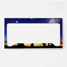 10X14WYOGA License Plate Holder