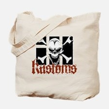 IH Kustoms Logo Large Tote Bag