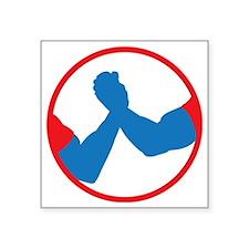 """Schwarzenegger/Ventura 2012 Square Sticker 3"""" x 3"""""""