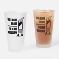 guillotine Drinking Glass