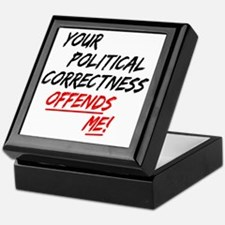 politicalcorrectness01 Keepsake Box