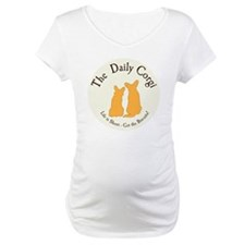 LARGE CIRCULAR daily corgi logo Shirt