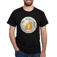 LARGE CIRCULAR daily corgi logo T-Shirt