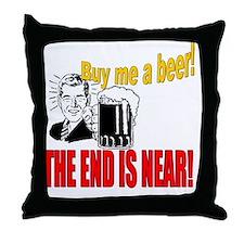 ART Bachelor party Throw Pillow