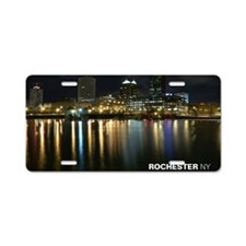 2-downtown Aluminum License Plate