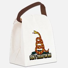 Dont Tread On Me 12x12 Canvas Lunch Bag