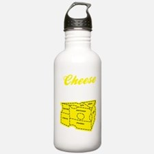 cheese_dark Sports Water Bottle