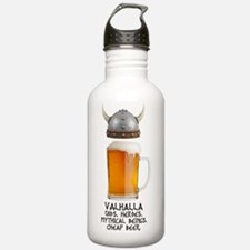 VALHALLAlogoblacktype Water Bottle