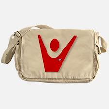 2-SaveWorks_redV Messenger Bag