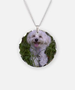 Trinket in the Grass Necklace