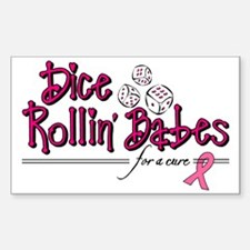 Dice Rollin Babes Decal