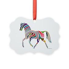 My Rainbow Horse with Logo Ornament