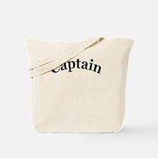 captain 4 white Tote Bag