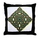 Saint Patrick's Shamrock Throw Pillow