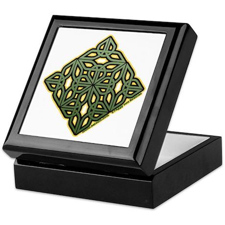 Saint Patrick's Shamrock Keepsake Box