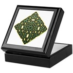 Saint Patrick's Shamrock Keepsake Box