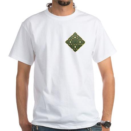 Saint Patrick's Shamrock White T-Shirt