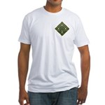 Saint Patrick's Shamrock Fitted T-Shirt