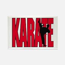 Karate Logo Rectangle Magnet
