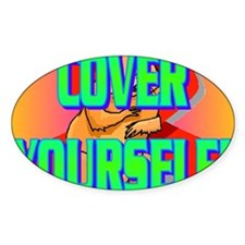 COVER YOURSELF(kids) Decal
