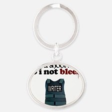 Designs-Castle026-02 Oval Keychain