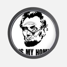 Abe-Homeboy-(white-shirt) Wall Clock