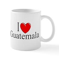 """I Love Guatemala"" Mug"